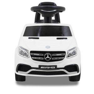 Mercedes GLS63 AMG push kidscar white front view