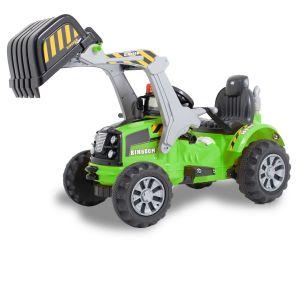 Kijana Kingdom electric excavator green