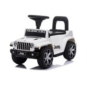 Jeep wrangler ride-on car white