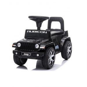 Jeep wrangler ride-on car black