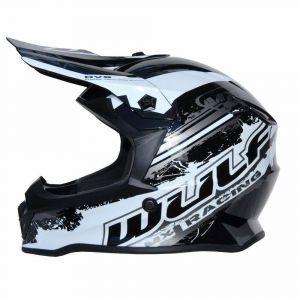 Wulfsport children's helmet Junior Cub Off Road Pro black