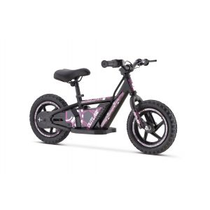 """Outlaw electric balance bike 24V lithium with 12 """"wheels pink"""