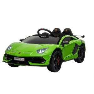 Lamborghini kids car green