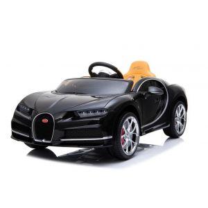 Bugatti Chiron kidscar black prijstechnisch electrickidscars