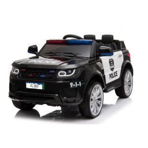 Land Rover Police kidscar black Prijstechnisch outdoortoys4kids