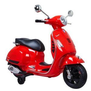Vespa GS kinderscooter rood prijstechnisch autovoorkinderen autosvoorkinderen