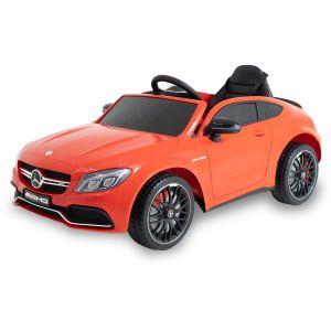 Mercedes kids car C63 AMG red