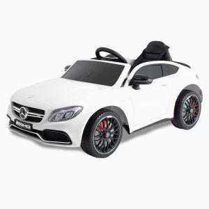 Mercedes kids car C63 AMG white