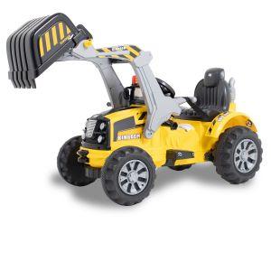 Kijana Kingdom electric excavator yellow