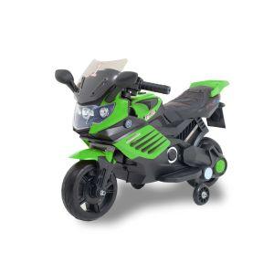 Kijana elektrische kindermotor superbike zwart-groen