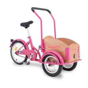 Kijana mini cargo bike - pink