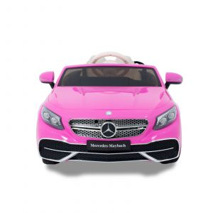 Mercedes Maybach S650 convertible kidscar pink front view