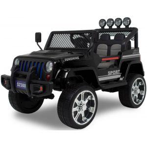 Monster Jeep 4x4 black