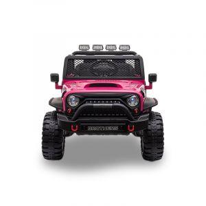 Kijana Jeep electric kids car pink