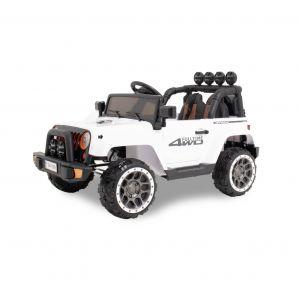 Kijana electric kids car Jeep white