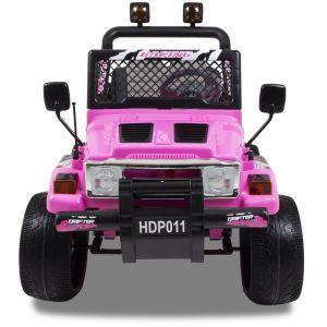 Jeep kidscar pink front view