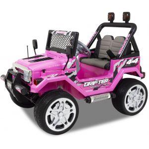 Jeep kids car pink