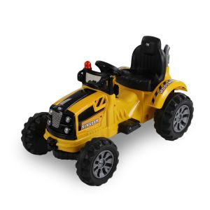 Kijana electric tractor yellow without bucket