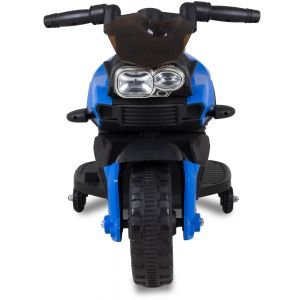 Kids mini motor blue 6V front view
