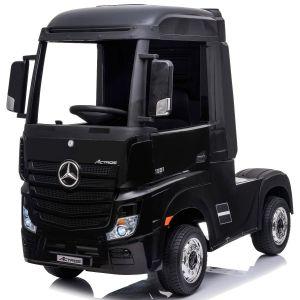 Mercedes electric kids truck Actros black