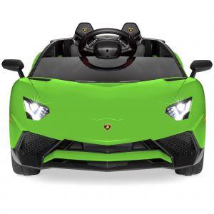 Lamborghini kidscar green prijstechnisch outdoortoys4kids
