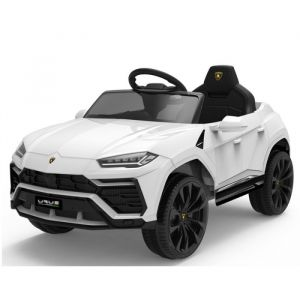 Lamborghini electric kids car Urus white