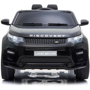 Land Rover Discovery kidscar black side view front view