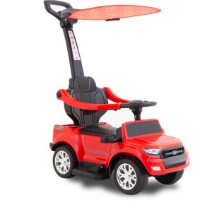 Ford electric walking car with umbrella red front view