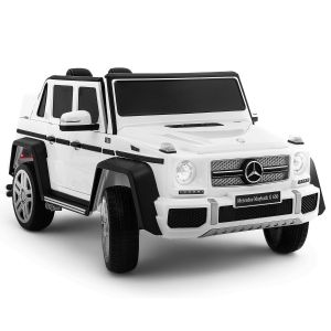 Mercedes electric kids car Maybach G650 white
