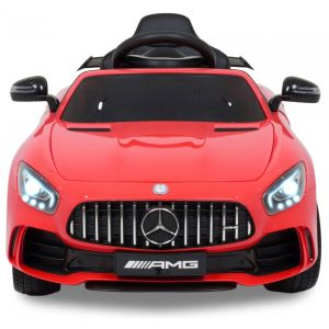 Mercedes GTR kidscar red front view headlights