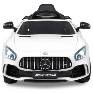 Mercedes GTR kidscar white front view headlights