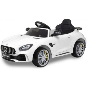 Mercedes kids car GTR white