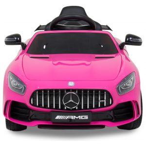 Mercedes GTR kidscar pink front view