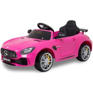 Mercedes kids car GTR pink