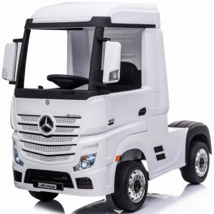 Mercedes electric kids truck Actros white