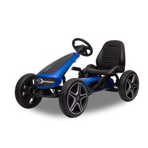 Mercedes go-kart blue