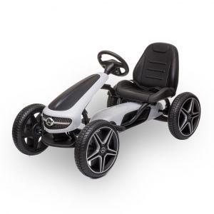 Mercedes go-kart white