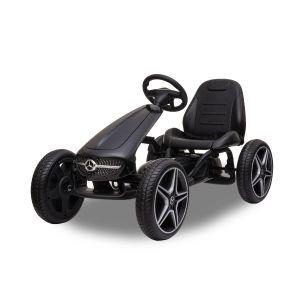 Mercedes go-kart black