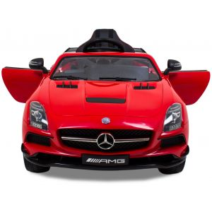 Mercedes AMG SLS red car for kids