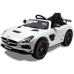 Mercedes kids car AMG SLS white