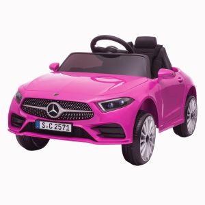 Mercedes kids car CLS350 pink