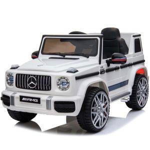 Mercedes electric kids car G63 sport convertible white