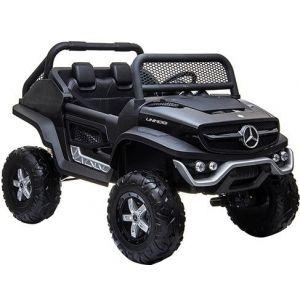 Mercedes electric kids car Unimog Mini black