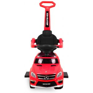 Mercedes GL63 AMG push kidscar red front view