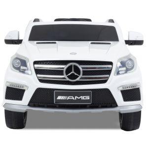 Mercedes GL63 AMG kidscar white front view