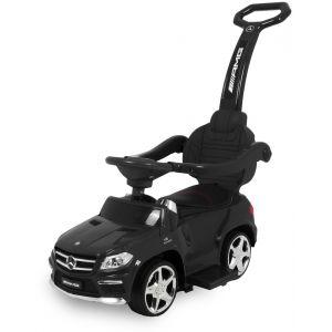 Mercedes GL63 push car with push bar black