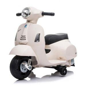 Mini vespa electric kids scooter white