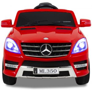 Mercedes ML350 kidscar red front view headlights
