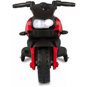 Kids mini motor red 6V front view headlights