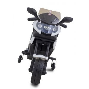 Kijana Superbike electric kids motor front view windshield
